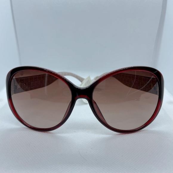 NWT Michael Kors Crystal Red Sunglasses #2893S